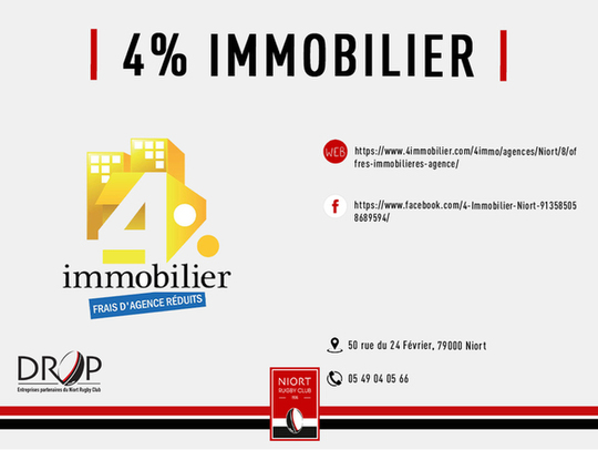 4% Immobillier